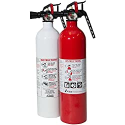 Kidde 2Pack / 1ea 1A10BC FX and 1ea Kitchen 711A FX Fire Extinguisher Value Pack Combo