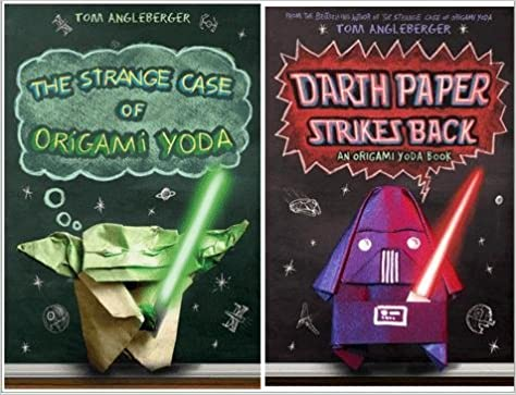 Origami Yoda Pack The Strange Case Of Origami Yoda Darth Paper