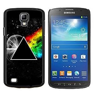 TECHCASE---Cubierta de la caja de protección para la piel dura ** Samsung Galaxy S4 Active i9295 ** --Triángulo Symbolics Secret Universo del arco iris
