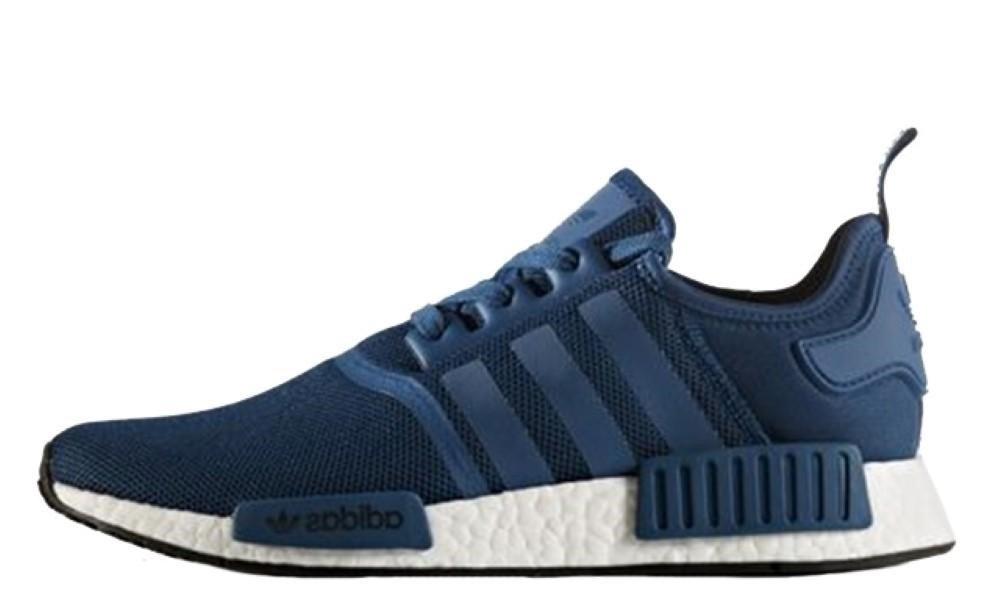 Adidas Mens Originals NMD R1 Shoes Blue White