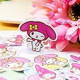 40pcs Creative Cute Kawai self-Made My Melody