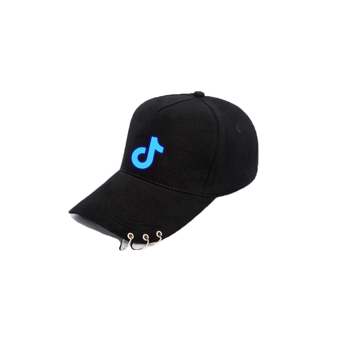 Hip hop Cap Color : Black1 Luminous Couple Cap Tongboshi Hat Black Latest Models Summer Mens Vibrating with The Luminous Baseball Cap