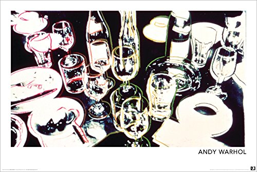BEYONDTHEWALL Archive Andy Warhol After The Party Alcohol Pop Fine Art Print (24x36 UNFramed Poster) Andy Warhol Pop Art