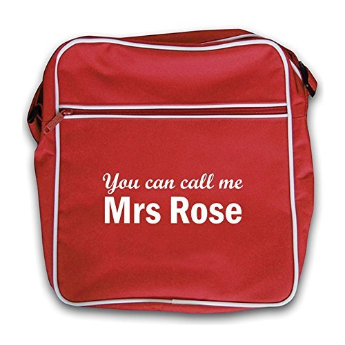 You Red Can Me Retro Rose Red Bag Mrs Flight Call HrB7qH