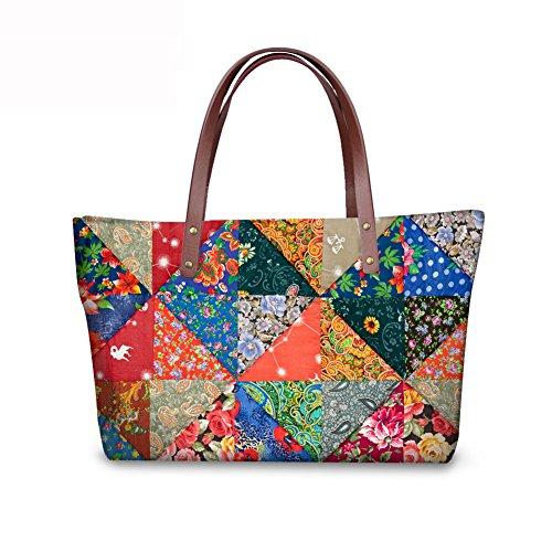 Vintage Bags Bags FancyPrint Purse Wallets Women School C8wca4693al Foldable f6nq7wBd