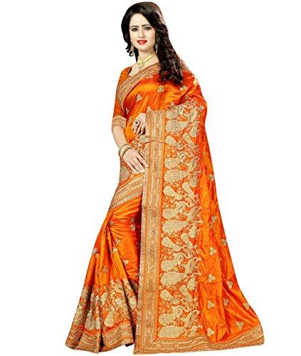 Simaaya -  Vestito  - avvolgente - Donna arancione Orange Taglia unica
