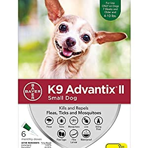 Bayer K9 Advantix II Flea, Tick and Mosquito Prevention for Large Dogs, 21 - 55 lbs 1