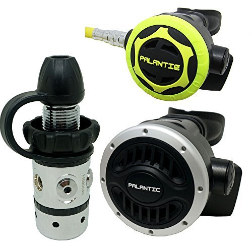 Palantic SCR-01-DIN-NA-OC Scuba Diving Dive AS101 DIN Regulator and Octopus Combo by Palantic