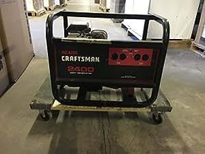 CRAFTSMAN Sears 2400 Watt Model 580328330 AC Generator Portable