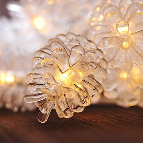 pine cone garden lights - 5