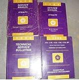 1996 Dodge Stealth Service Repair Shop Manual Set Oem (4 volume set)