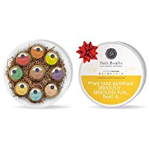 BathBath Bombs Gift Set - 9 XL Assorted Fizzies (120g) - Individually Wrapped - Natural, Organic & Vegan w/ Essential Oils | *BOXING DAY PRICES NOW* Perfect for Christmas Gifts, Gift for Women, Secret Santa for Friends, Boss & Coworker, Holiday Gift under 25