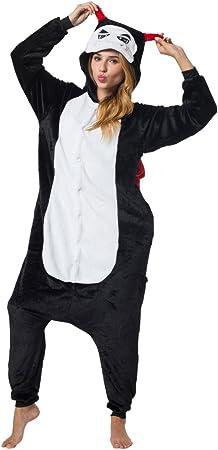TALLA Talla 175-185cm (XL). Katara-Kigurumi (2 Modelos) Pijamas Disfraz Halloween Adultos Unisex Talla 175-185cm, color diablo, (XL) (1744) , color/modelo surtido