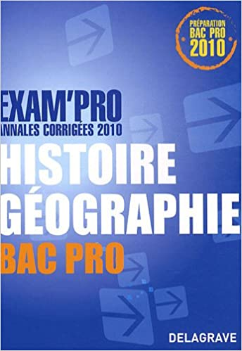 Livres gratuits en ligne Histoire Géographie Bac Pro : Annales corrigées 2010 pdf ebook