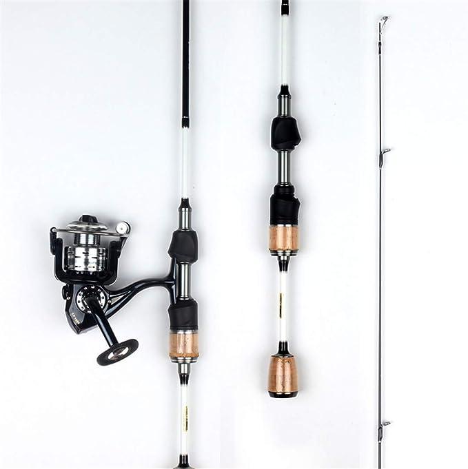 1,68 1.8M 1.98M caña de Pescar Sección 2 Ultra Spinning luz en ...