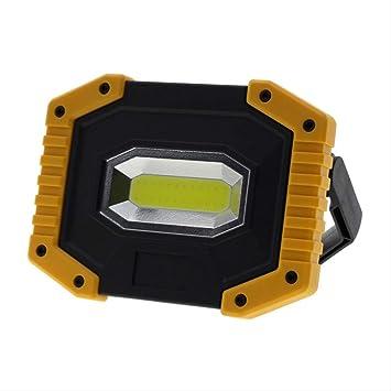 Foco LED Recargable Led Portátil Proyector Led Luz De Trabajo ...