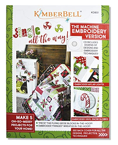 - Jingle All The Way! Machine Embroidery CD & Sewing Book