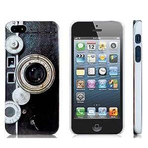 Eforcase Vintage Camera Print Hard Plastic Case for iphone 5c