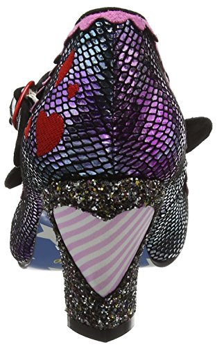 Irregular Choice I Heart Minnie - Tacones Mujer Purple (Purple Metallic)