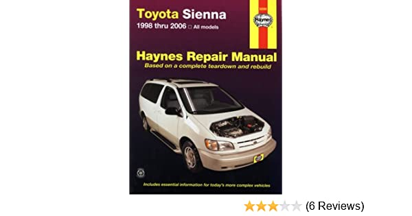2006 toyota sienna repair manual