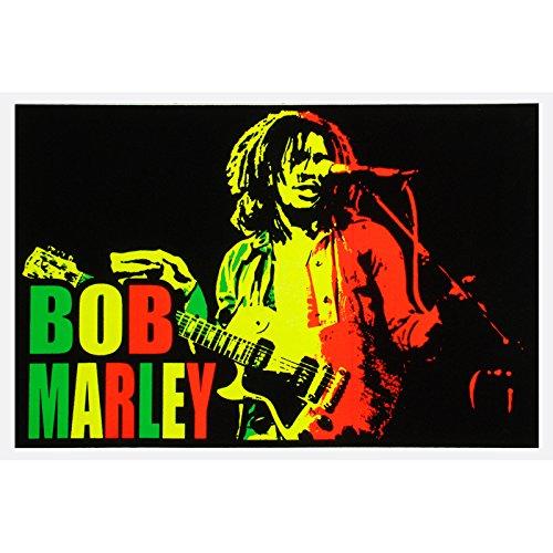 Bob Marley - Blacklight Poster 36 x 24in
