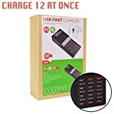 Fast Charging 12 port 12 amp USB power adapter
