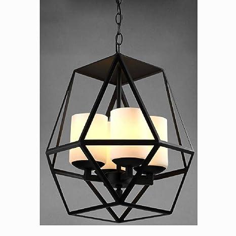 Haoaijia Lampara Colgante Lámpara De Techo Colgante Vintage ...