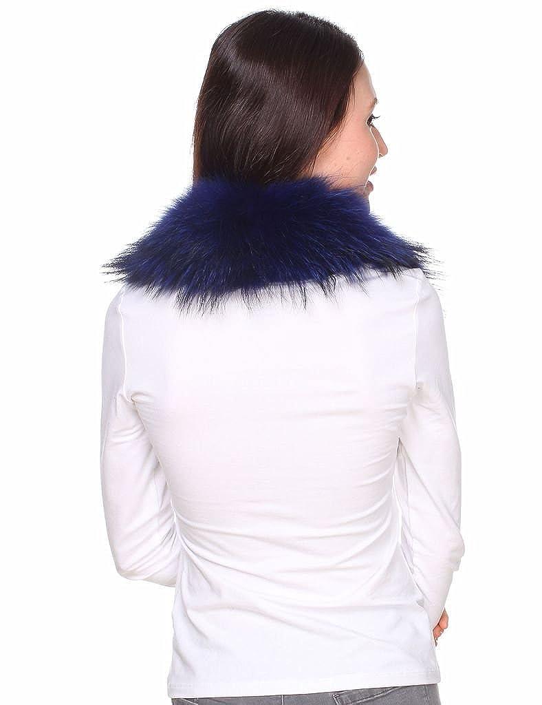 di di autentico di procione pelliccia di Scialle Ferand Sciarpa scialle OwUvSFOxqC