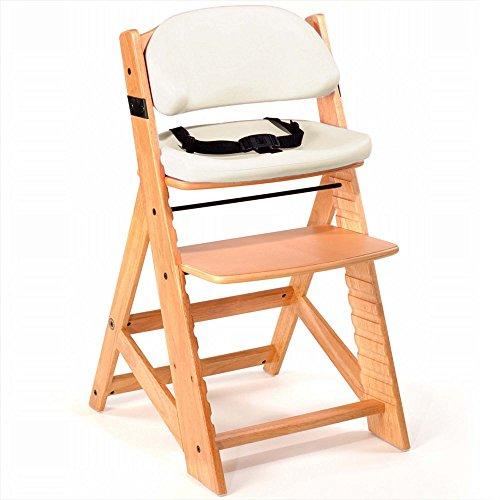 Keekaroo Height Right Kids Chair with Comfort Cushions, Vanilla by Keekaroo