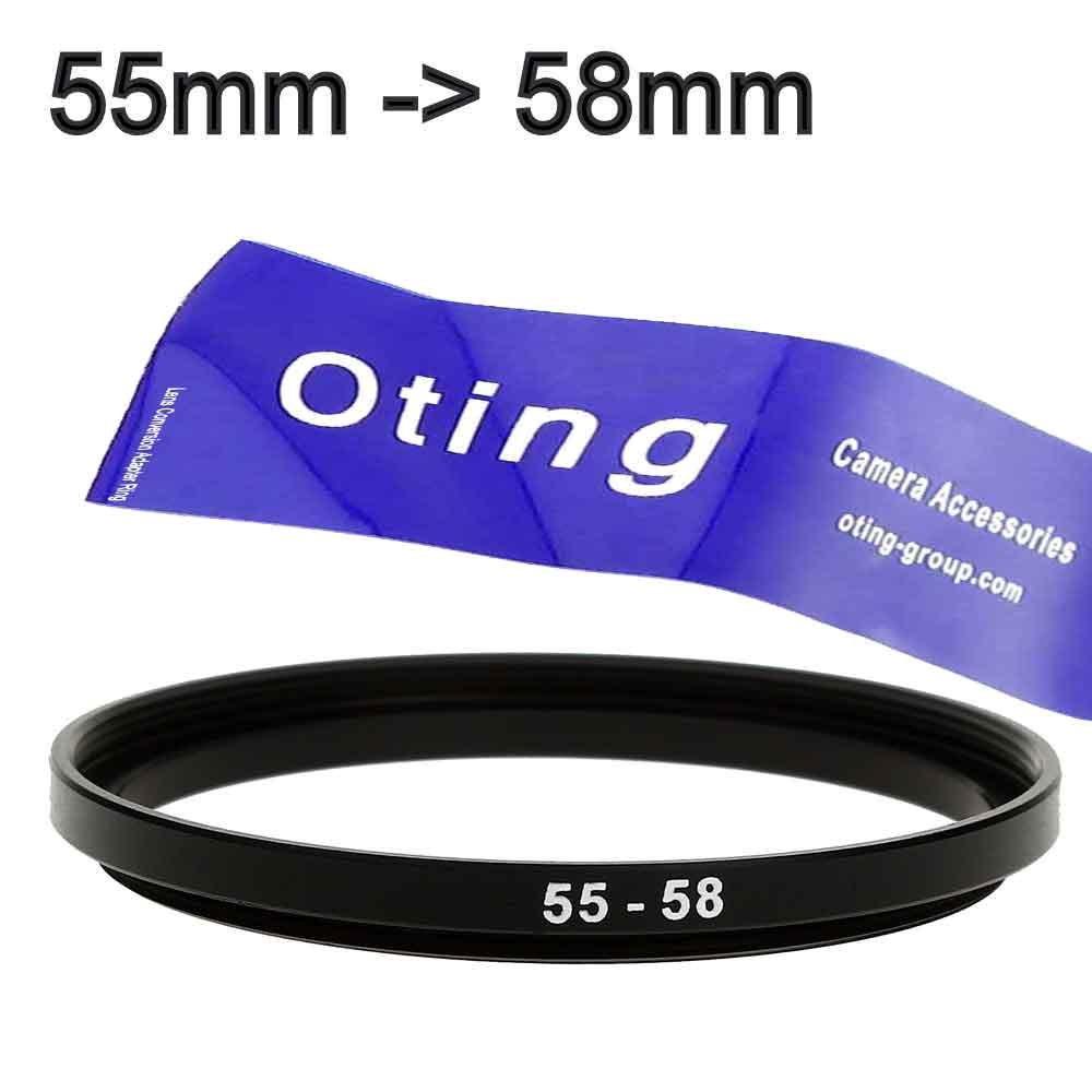 55mm-58mm/58mm-55mm BAGUE DE CONVERSION METAL DE DIAMETRE 55-58mm POUR OBJECTIF PHOTO 55mm et ACCESSOIRE 58mm OTING