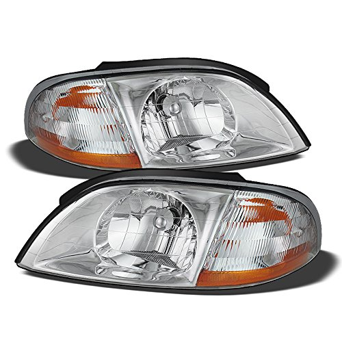 ACANII - For 1999-2003 Ford Windstar Replacement Headlights Headlamps 99-03 Pair Driver + Passenger Side ()