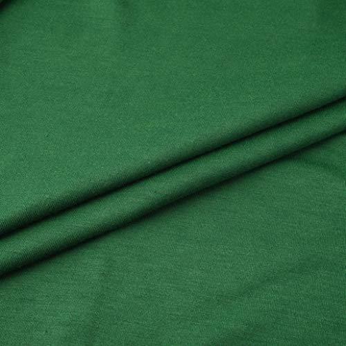 Manches Top Taille Chemisier en Color Ourlet Fashion Innerternet Vert Longues Femme Blouse Grande Vrac Pure irrgulier tq8WwOF