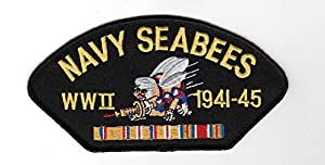 Navy Seabees WWII Hat Patch from Military Productions
