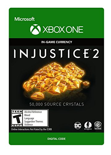 Injustice 2: 50,000 Source Crystals - Xbox One [Digital Code] by