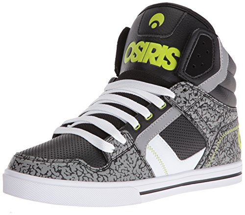 Osiris Mænds Klon Skate Sko Sort / Lime / Elefant cpHbYC