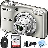 Nikon COOLPIX A10 Digital Camera 16.1MP 5X Zoom NIKKOR...