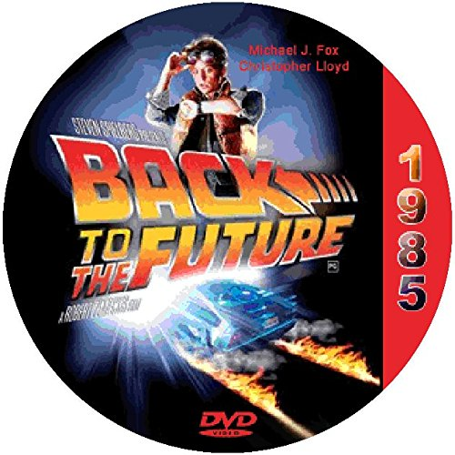 Back to the Future (1985) Classic Sci-fi and Horror Movie DVD-R