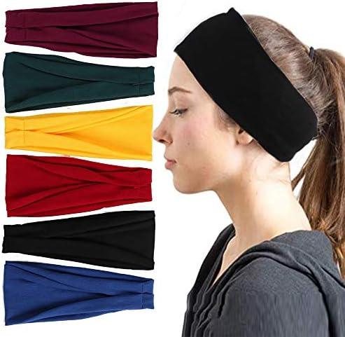 Headwrap Sport Hairbands Head Band Absorbing  Sweat Hairbands Yoga Headbands