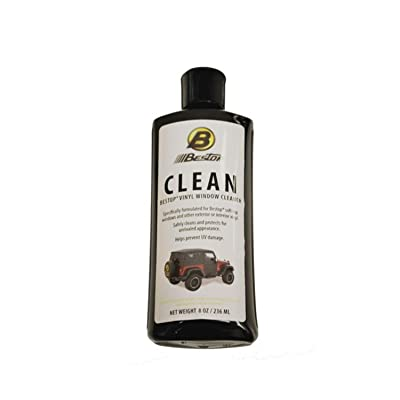 Bestop 11203-00 Vinyl Window Cleaner, 8 oz. bottle: Automotive