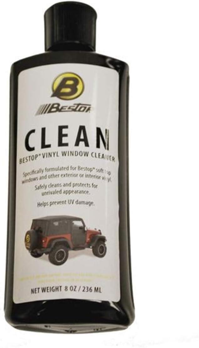 Bestop 11203-00 Vinyl Window Cleaner, 8 oz. bottle