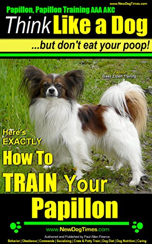 Papillon Training AAA AKC EXACTLY ebook product image