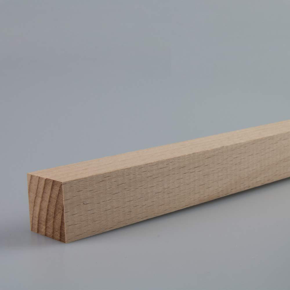 Quadratleiste Bastelleiste Abschlussleiste Abdeckleiste aus unbehandeltem Kiefer-Massivholz 2400 x 22 x 22 mm