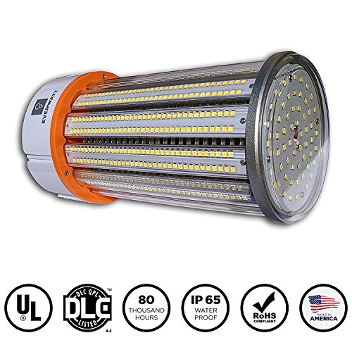 100 Watt LED Outdoor Metal Halide Retrofit Bulb (Replaces 600W), E39 Mogul Base, 4000K