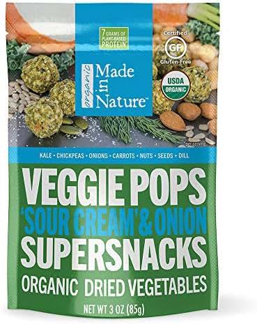 Veggie & Grain Chips: Made in Nature Veggie Pops