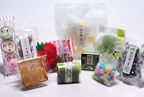 WAGASHI Special set Assorted 10 kinds Japanese Candy, MOCHI, Konpeito, Yokan, Jelly dessert - Dessert Jelly