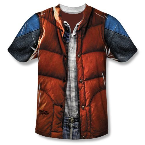Back to the Future - Mcfly Vest T-Shirt Size M]()