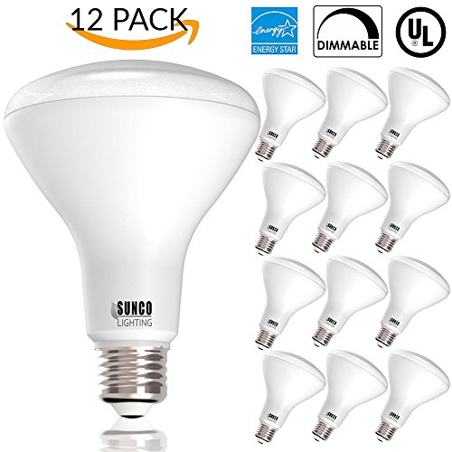 12 PACK - BR30 LED 11WATT (65W Equivalent), 5000K Daylight, DIMMABLE, Indoor/Outdoor Lighting, 850 Lumens, Flood Light Bulb, UL & ENERGY STAR LISTED
