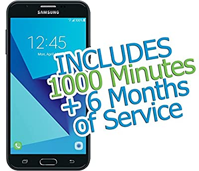 """Tracfone Samsung Galaxy J7 Sky PRO 5.5"""" 16GB with 1000 Minutes/Texts/Data + 6 Months of Service"""