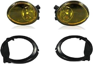 2x Nebelscheinwerfer Gelb Klarglas Us Look 2x Hb4 Leuchtmittel E4 Passgenau Neu Hochwertig Auto