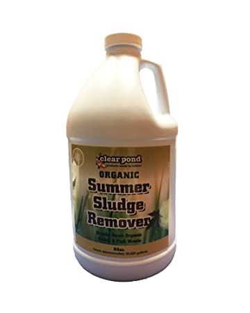 Clear Pond Summer Bio Sludge Remover - 64-Ounce